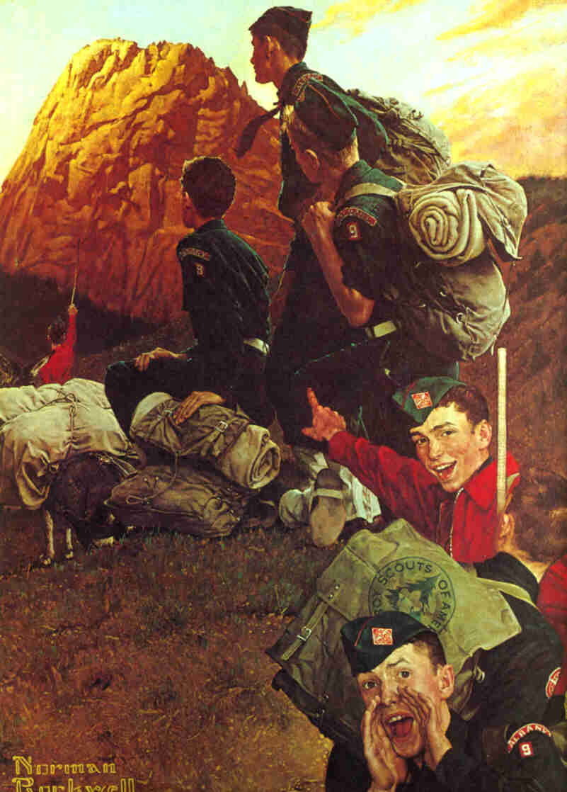 Norman Rockwell High Adventure